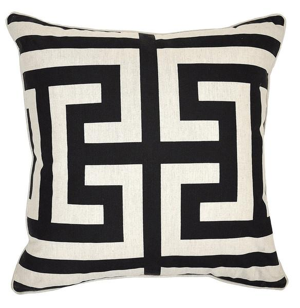 Black And White NTB Estate Pillow