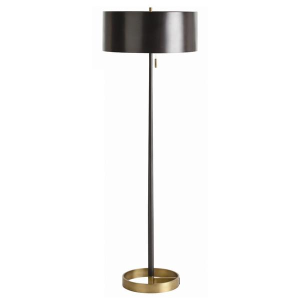 black aeon floor lamp