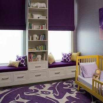 Toddler Room Wall Bookshelf Design Ideas