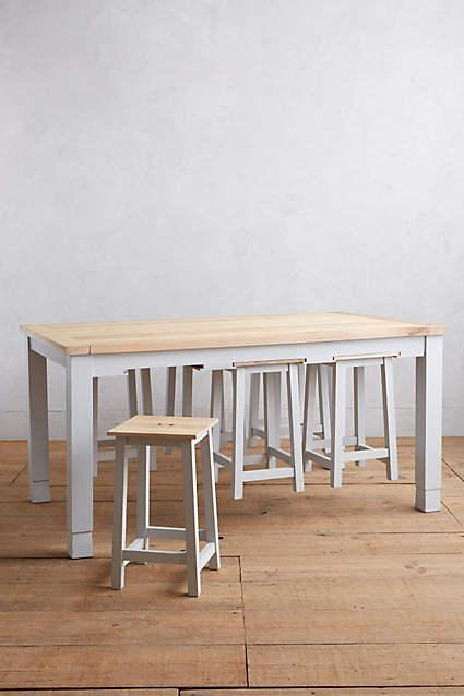 & Grey Harthaven Counter Table and Stool Set
