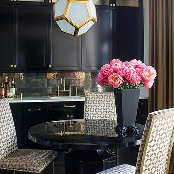 Robert abbey pythagoras pendant design ideas gold and black dining room with robert abbey mary mcdonald pythagoras pendant aloadofball Gallery