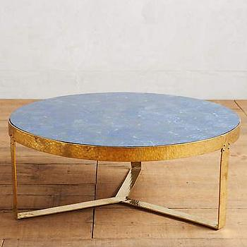 round hammered coffee table - products, bookmarks, design