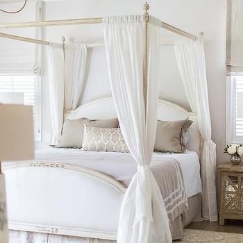 Curtains For Canopy Beds white canopy bed design ideas