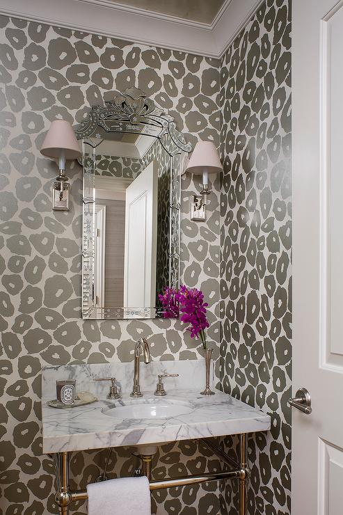 Gray Powder Room Paint Colors Design Ideas Page 1