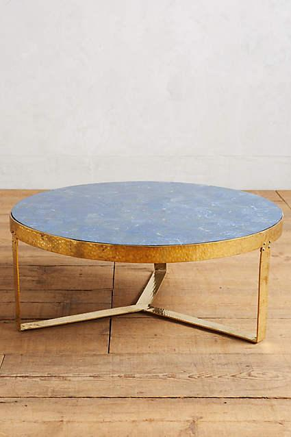 Blue Lirit Coffee Table