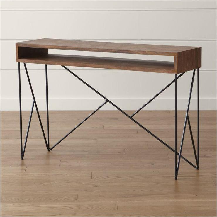 brown dixon console table design black metal console table zen best shower curtains ideas. Black Bedroom Furniture Sets. Home Design Ideas