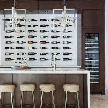 Island with wine jug chandeliers design ideas contemporary wine cellar with wall wine bottle display units aloadofball Choice Image