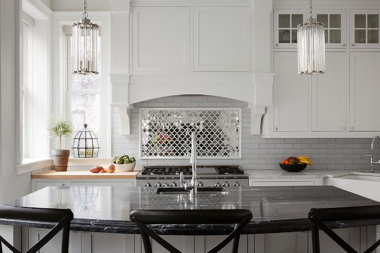 Mirrored Backsplash Ideas Part - 24: View Full Size