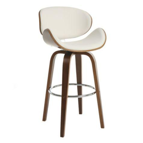 Keighley white and brown stool collection for Furniture keighley