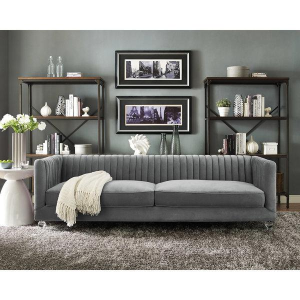 Grey Tufted Sofa38