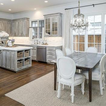 distressed gray cabinets gray distressed kitchen island design ideas 14851