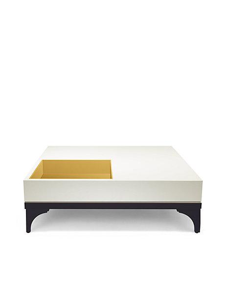 Z Gallerie Melana Black Coffee Table