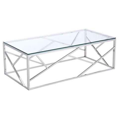 Glass Cage Coffee Table