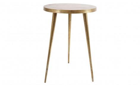 Charming Zac Brass Side Table