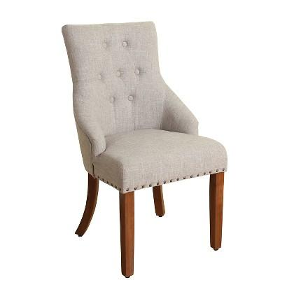 Lainey Tufted Arm Chair - Arm Chairs - Living Room - Furniture ...