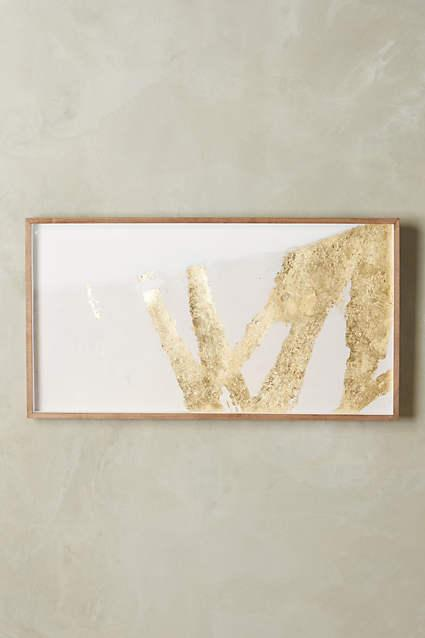 Goldsweep Wall Art