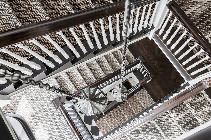 Jute Stair Runner Design Ideas