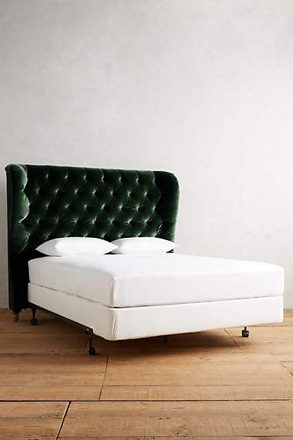 green headboard  products, bookmarks, design, inspiration and ideas., Headboard designs