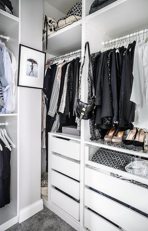 See Through Closets Contemporary Closet Lonny Magazine