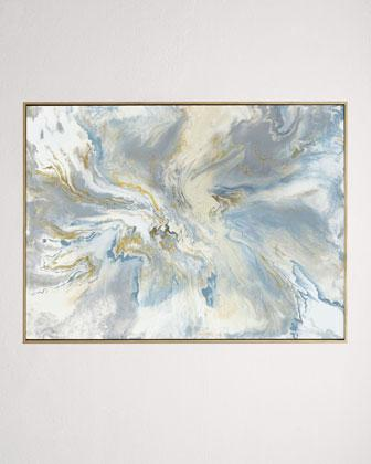 John-Richard Collection I Believe in Love Grey Original Painting
