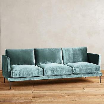 teal green velvet sofa products bookmarks design. Black Bedroom Furniture Sets. Home Design Ideas
