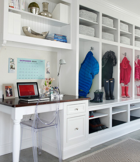 Mudroom Built In: Laundry Room Design, Decor, Photos, Pictures, Ideas
