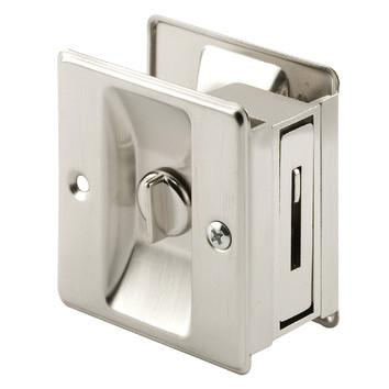 Real Carriage Teardrop Privacy Lock