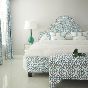 Bedroom Bench Teal
