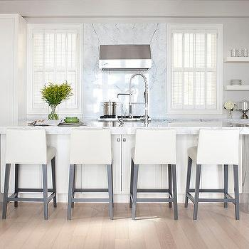 Off White Kitchen Images off white faceted kitchen cabinets design ideas