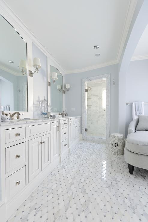 blue and white bathrooms interior design inspiration photos by meredith heron design 17446