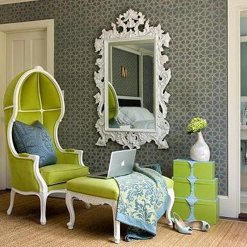 Superb Denver Square Green Velvet Ottoman Forskolin Free Trial Chair Design Images Forskolin Free Trialorg