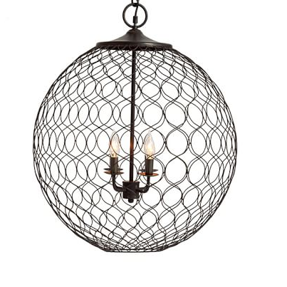 Orb Chandelier Look 4 Less And Steals And Deals