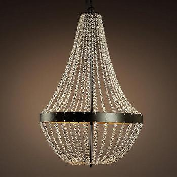 Blue And Black Boho Chandelier Design By Currey And Company