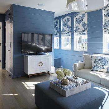 Shiplap Living Room Walls Design Ideas