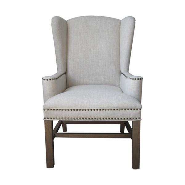 sc 1 st  Decorpad & Allcott Ivory Wing Back Chair