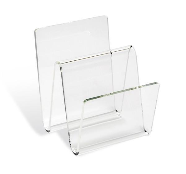 Clear Acrylic Luggage Rack Products Bookmarks Design Mesmerizing Lucite Magazine Holder