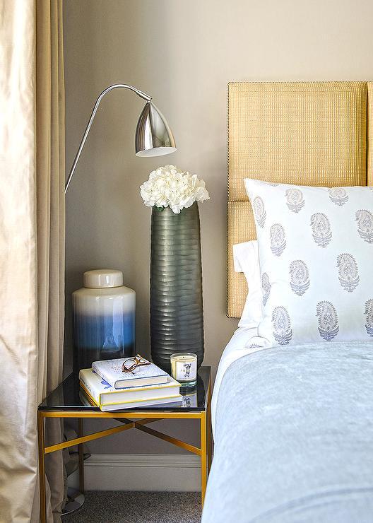 blue gold and black bedroom asian bedroom. Black Bedroom Furniture Sets. Home Design Ideas