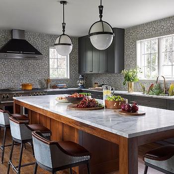 Ceiling Height Kitchen Backsplash Design Ideas