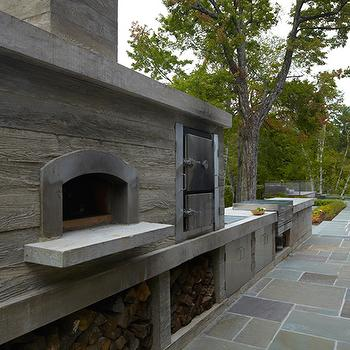 Rustic Patio Pizza Oven Design Ideas