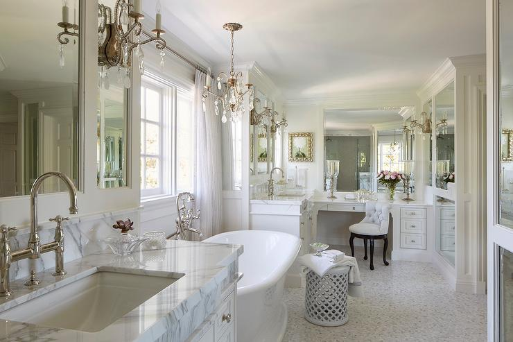 Fair 60 french bathroom inspiration design of best 25 for L shaped master bathroom layout
