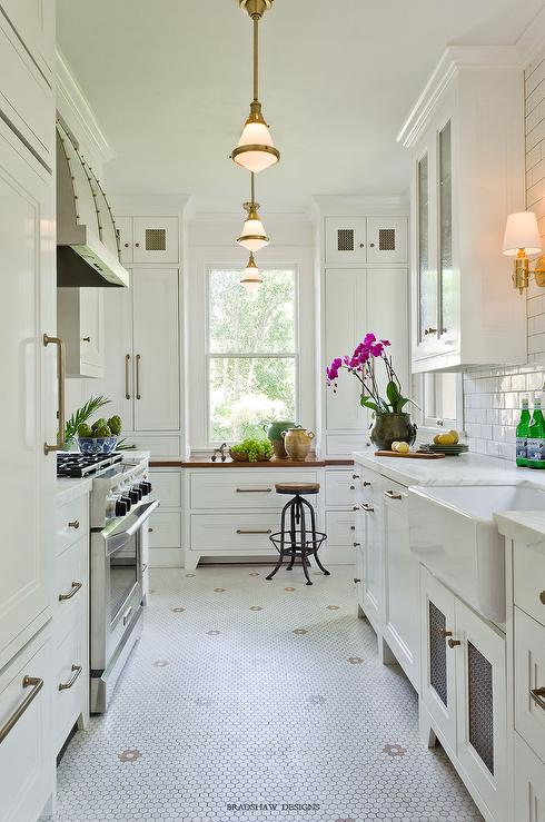 Galley Kitchen With Sloped Ceiling Design Ideas