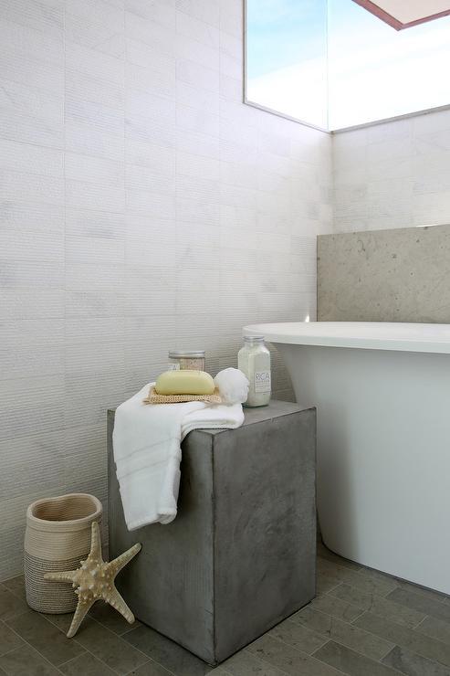 Bathroom Stool Transitional Bathroom Urban Grace