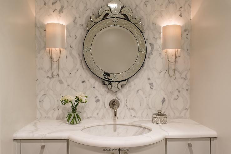 Bullnose Edge Bathroom Countertop Transitional Bathroom