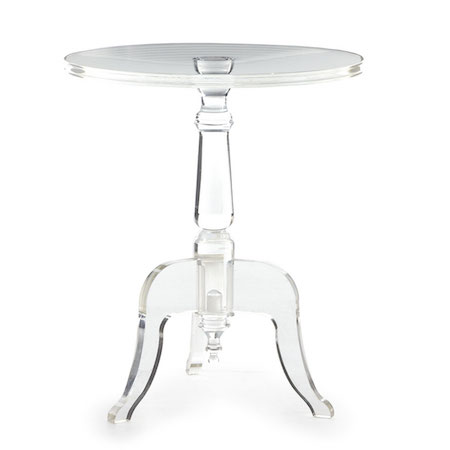 Incroyable $699.00. Clear Acrylic Zella Accent Table