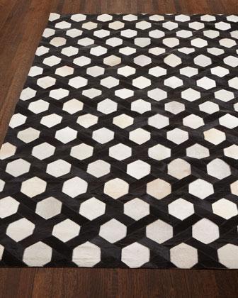 black and white geometric rug. black and white geometric hair hide rug