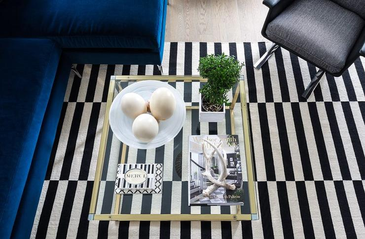 Black And White Rug Contemporary Boy S Room Lily Z