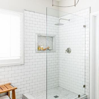 Corner Shower Glass Partition Design Ideas - Bathroom glass partition designs