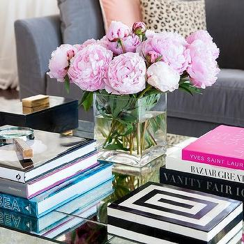 White Coffee Table Books Design Ideas