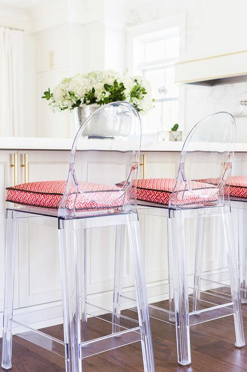 ... Counter Stools view full size - Half Moon Kitchen Counter Stool Seat Cushions Design Ideas