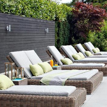 Resin Wicker Pool Lounger Design Ideas